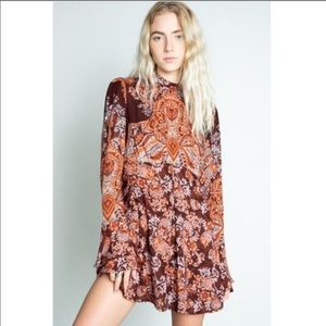 Free People Lady Luck Tunic Size Large NWT!